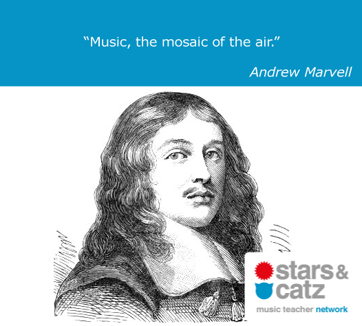 Andrew Marvell Music Quote Image