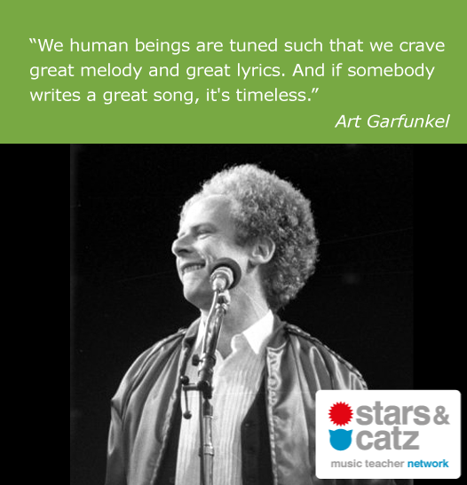 Art Garfunkel Music Quote
