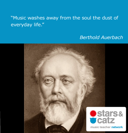 Berthold Auerbach Music Quote Image