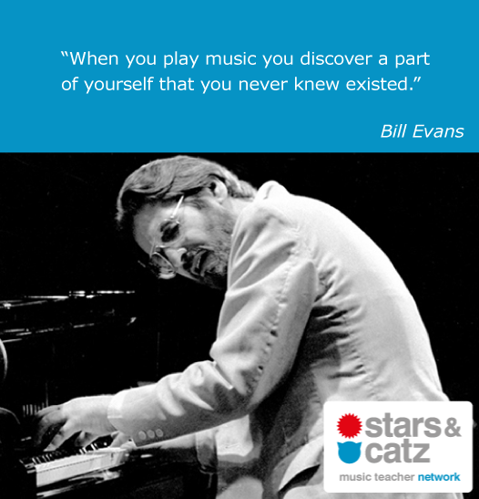 Bill Evans Music Quote