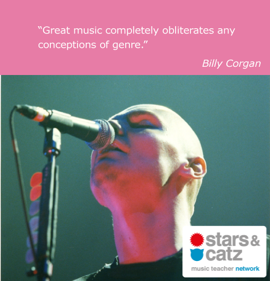 Billy Corgan Music Quote Image.