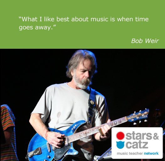 Bob Weir Music Quote