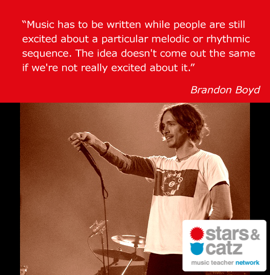 Brandon Boyd Music Quote 2