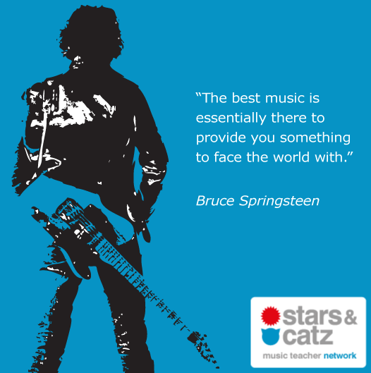 Bruce Springsteen Music Quote