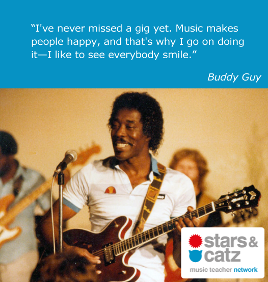 Buddy Guy Music Quote