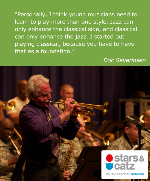 Doc Severinsen Music Quote