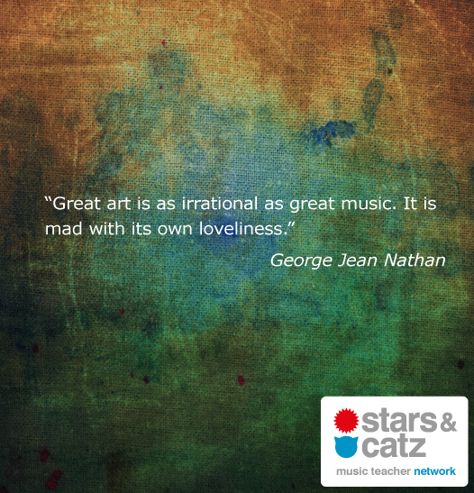 George Jean Nathan Music Quote Image