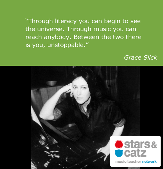 Grace Slick Music Quote