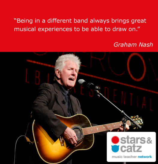 Graham Nash Music Quote
