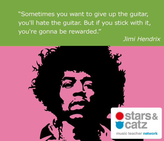 Jimmy Hendrix Music Quote