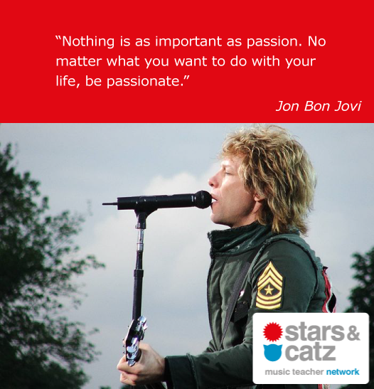 Jon Bon Jovi Music Quote