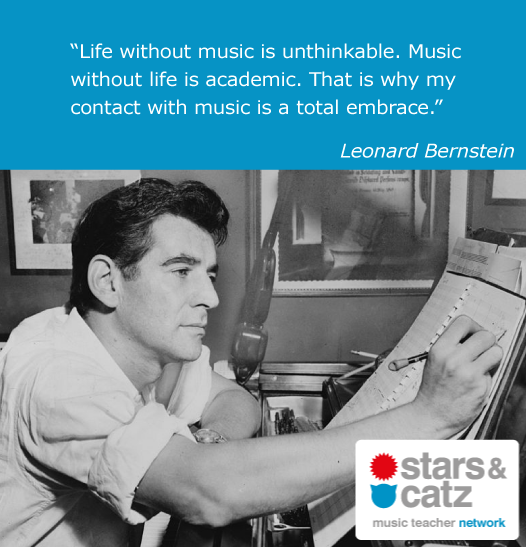 Leonard Bernstein Music Quote 2 Image