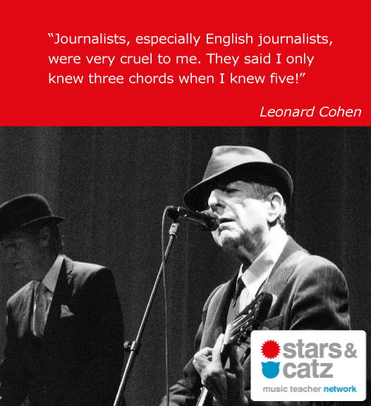 Leonard Cohen Music Quote 4