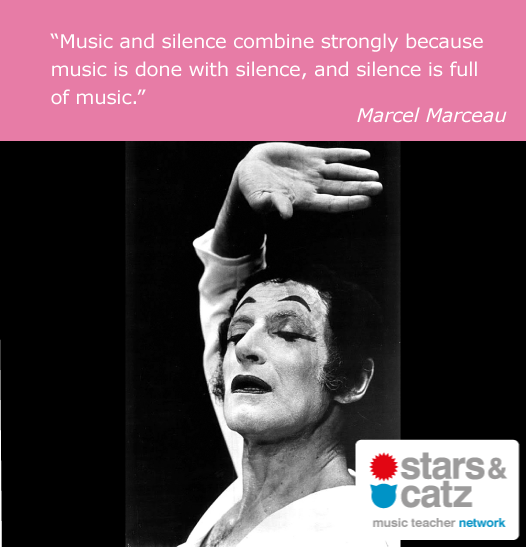 Marcel Marceau Music Quote 1 Image