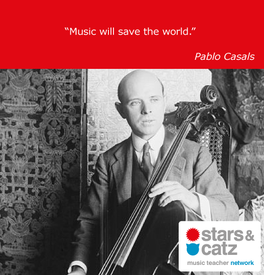 Pablo Casals Music Quote 3 Image