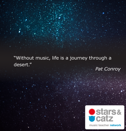 Pat Conroy Music Quote Image