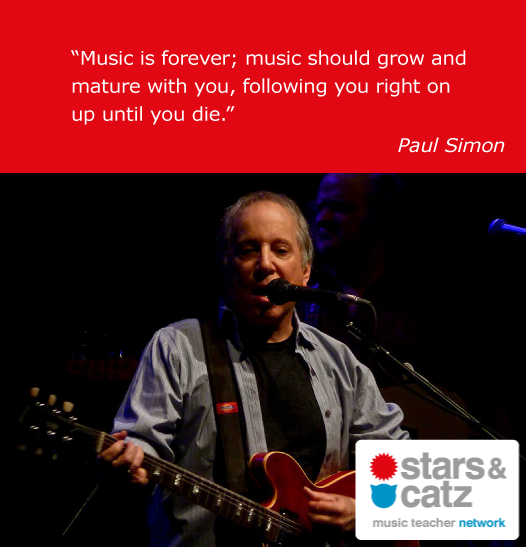 Paul Simon Music Quote 2