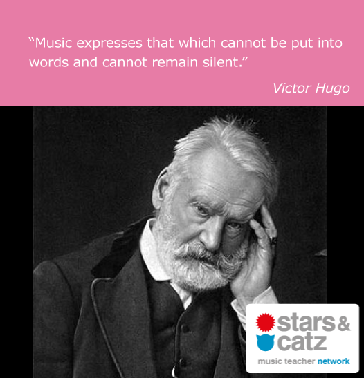 Victor Hugo Music Quote Image