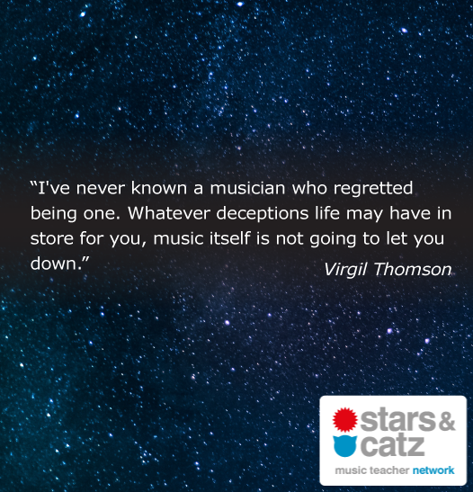 Virgil Thomson Music Quote 1 Image