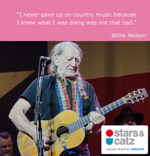 Willie Nelson Music Quote
