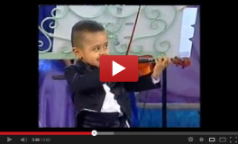 3 Year Old Akim & Andre Rieu