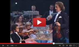 5 Year Old Akim & Andre Rieu!